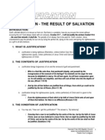 The Result of Salvation - Justification