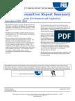PRS - PSC Report Summary MMDR Amendment Bill