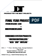 NCCT - IEEE Projects 2010 and Non IEEE -- Robotics Projects List Titles 2010 - 2011