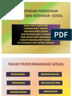 Kepentingan Pendidikan Jasmani Dan Kesihatan Sosial