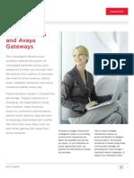 Avaya Aura Server and Gateway Brochure 2009