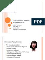 Winning Business Plan
