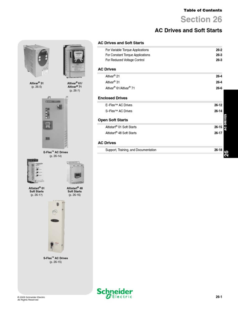 Ac Drives Soft Starts | Mains Electricity | Electrical Connector