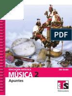 Educación Artística MUSICA 2do grado TS