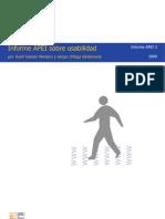 Informe APEI Sobre Usabilidad