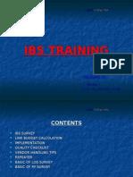 IBS Training Module