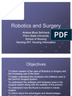 Robotics and Surgery
