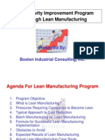 ProductivityImprovementthroughLeanMfg