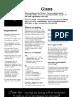Cua Glass Fact Sheet