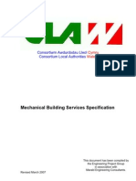 Mechanical Building Services Specification 2007