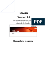 DIALux4.4 Manual