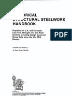Historical Structural Steelwork Handbook