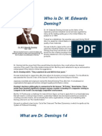 14 Points of Dr Deming's