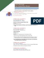 CV Willmar Argenis Pérez Romero Español 06-2011