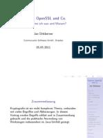 Keytool, OpenSSL und Co. Wofür nehme ich was und Warum?