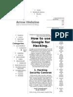Hacking Using Google