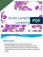 Acute Lymphocytic Leukemia Final