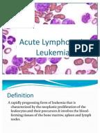 acute lymphoblastic leukemia case study