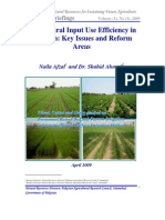 Agriculture Input Efficiency in Pakistan