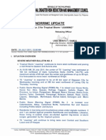NDRRMC - Update No. 2 - TS Juaning - 1700 - 26 July 2011