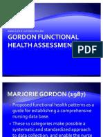 Gordon Functional Health Assessment