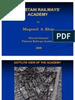 Pakistan Railways Academy, Walton, Lahore