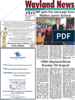 The Wayland News August 2011