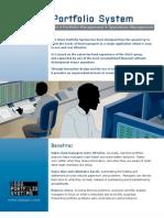 SGGG Portfolio System Datasheet