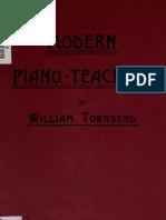 Modern Piano-Teaching Townsend