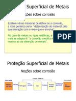 Proteção Superficial de Metais