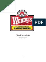 55344683 Wendy s Strategic Analysis