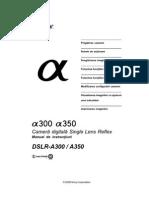Sony Dslr-A300-A350 Manual Ro