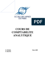 Cours Comptabilite Analytics