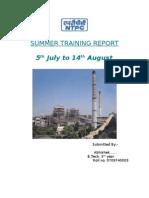 42584029 Abhinav Training Report
