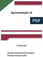 Apresentação 14 DISCIPLINA ARC - Diretrizes Scribd