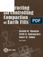 Constructing and Controlling Comp Action of Earth Fills