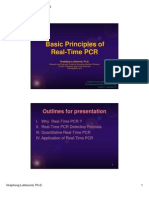 Basic Principles of Real-Time PCR
