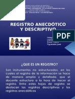 REGISTROS ANECDOTICOY DESCRPTIVO 2