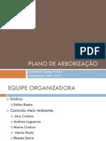 Plano de Arborização