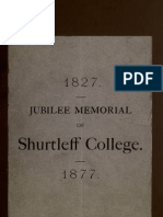 Jubilee Memorial of Shurtleff College
