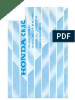 Honda CB 500Four Fahrerhandbuch