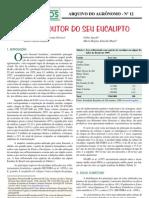 deficiência mineral em eucalipto