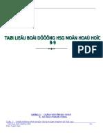 Tong Hop Cac Dang Bai Tap Hoa 9