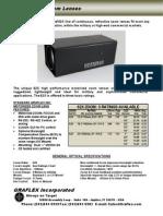 Graflex 62X Zoom Lens Brochure