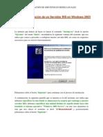 Tema 6 Parte 19 Configuracion de Un Servidor Ris en Windows 2003 Server