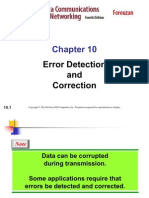 Error Detect and Correct
