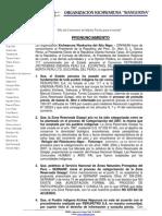 PRONUNCIAMIENTO ORKIWAN-PETROBRAS