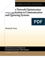 Stochastic Network Optimization With Applications to Communications and Queuing