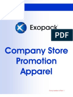 Company Store - Promotion Apparel