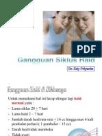 GANGGUAN HAID